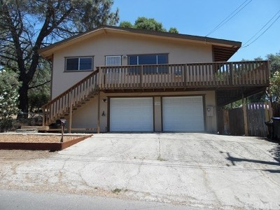 Clearlake Single Family Home For Sale: 3600 Pomo Road