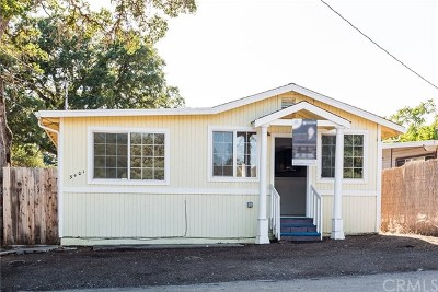 Clearlake Single Family Home For Sale: 3401 Harrison Street