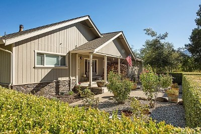 Kelseyville Single Family Home For Sale: 3360 Merritt Road