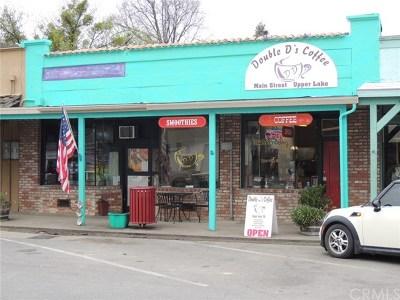 Upper Lake Commercial For Sale: 9453 Main Street