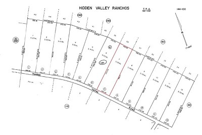Hidden Valley Lake Residential Lots & Land For Sale: 20946 Yankee Valley Road