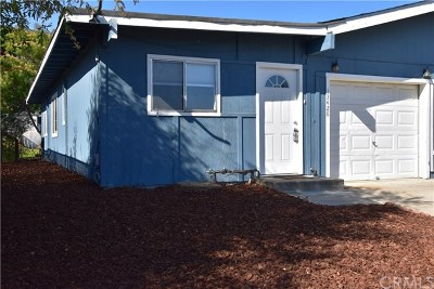 Clearlake Single Family Home For Sale: 13426 Marina