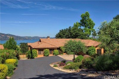 Kelseyville Single Family Home For Sale: 2370 Westlake Drive