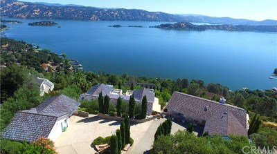 Kelseyville Single Family Home For Sale: 8242 N Heights Drive