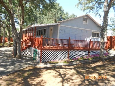 Clearlake Single Family Home For Sale: 15398 Pacific Street