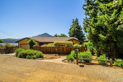 Clearlake Single Family Home For Sale: 3864 Oakmont Drive