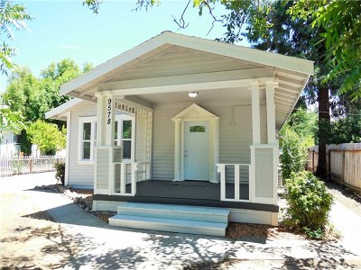 Upper Lake Single Family Home For Sale: 9578 Washington Street