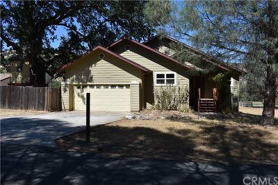 Clearlake Oaks Single Family Home For Sale: 2776 Spring Valley Road