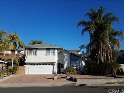 Mission Viejo Single Family Home Active Under Contract: 26531 Valpariso Drive