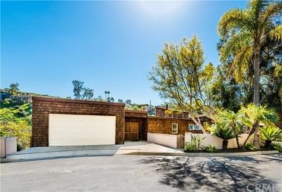 Laguna Beach Single Family Home For Sale: 1445 Cerritos Drive