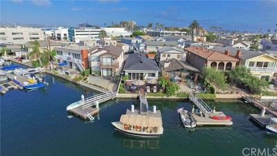 Newport Beach Single Family Home For Sale: 619 36th Street