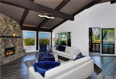 Laguna Beach Single Family Home For Sale: 28871 Top Of The World Drive