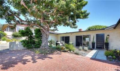 Laguna Beach Single Family Home For Sale: 1609 Temple Hills Drive