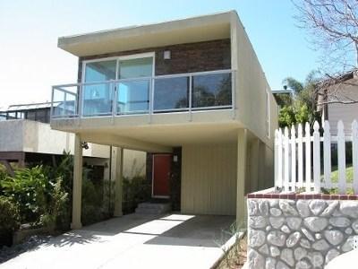 Laguna Beach Single Family Home For Sale: 1053 Oro Street
