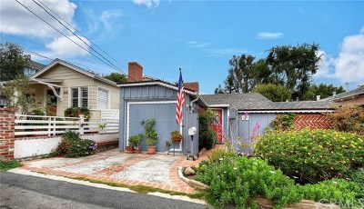 Laguna Beach Single Family Home For Sale: 545 Lombardy Lane