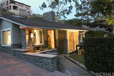 Laguna Beach Single Family Home For Sale: 967 Oriole Drive