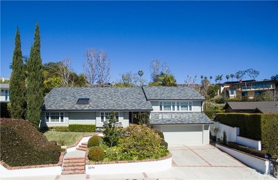 Laguna Beach Single Family Home For Sale: 2894 Zell Drive