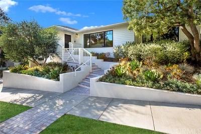 Laguna Beach Single Family Home For Sale: 476 El Bosque
