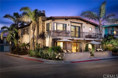 Newport Beach CA Single Family Home For Sale: $4,900,000