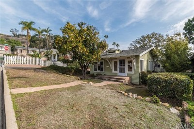 Laguna Beach Single Family Home Active Under Contract: 489 Jasmine Street