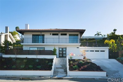 Laguna Beach Single Family Home For Sale: 2870 Zell Drive