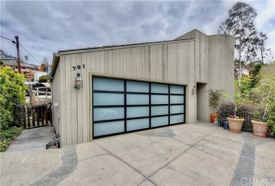 Laguna Beach Single Family Home For Sale: 781 Summit Drive