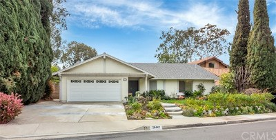 Mission Viejo Single Family Home For Sale: 26442 Papagayo Drive