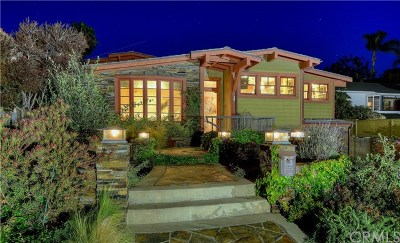 Laguna Beach Single Family Home For Sale: 37 S La Senda Drive