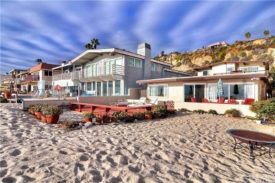 Dana Point Single Family Home For Sale: 35325 Beach Road