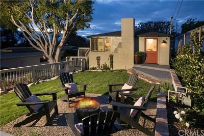 Laguna Beach Single Family Home For Sale: 546 Oak Street