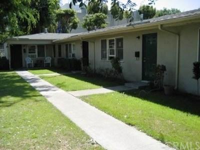 Fullerton Multi Family Home For Sale: 210 S Brookhurst Road