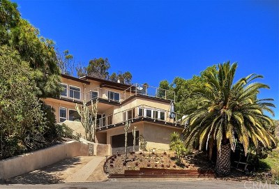 Laguna Beach Single Family Home For Sale: 310 Lookout Drive