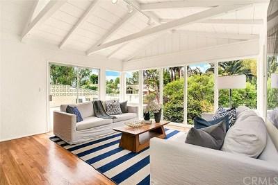 Laguna Beach Single Family Home For Sale: 445 Arroyo Chico