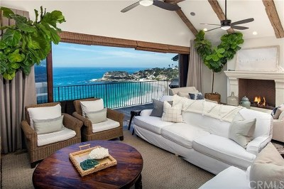 Laguna Beach CA Single Family Home For Sale: $12,750,000