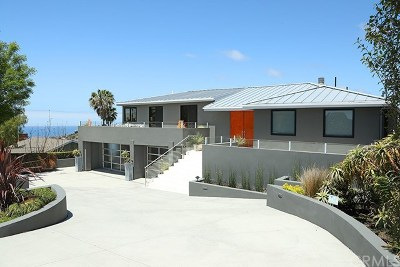 Laguna Beach Single Family Home For Sale: 2190 Temple Hills Drive