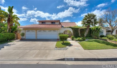 Mission Viejo Single Family Home For Sale: 23112 Sonoita