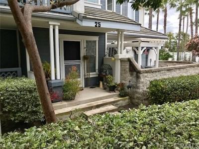 Aliso Viejo Condo/Townhouse For Sale: 25 Coronado Cay Lane