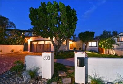 Laguna Beach Single Family Home For Sale: 403 El Bosque