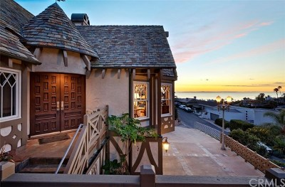 Laguna Beach Single Family Home For Sale: 530 Temple Hills Drive