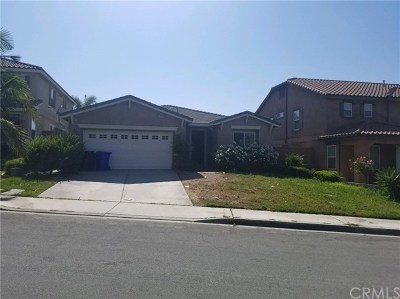 Fontana Single Family Home Active Under Contract: 11492 Bartlett Way