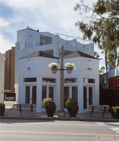 Single Family Home For Sale: 603 E Balboa Boulevard