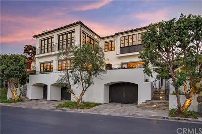Laguna Beach Single Family Home For Sale: 4 Emerald Bay