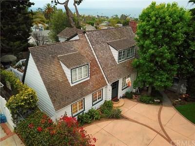 Laguna Beach Single Family Home For Sale: 683 Thalia Street