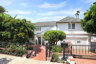 Laguna Beach Single Family Home For Sale: 615 Short Street