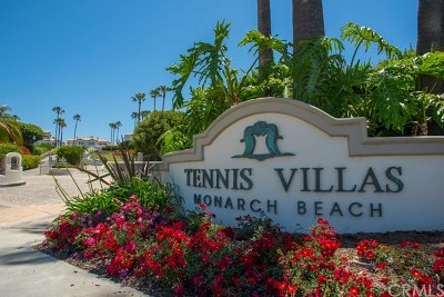 Dana Point Rental For Rent: 48 Tennis Villas Drive