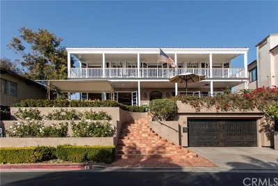 Laguna Beach Single Family Home For Sale: 95 Emerald Bay