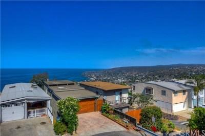 Laguna Beach Single Family Home For Sale: 1184 Miramar Street