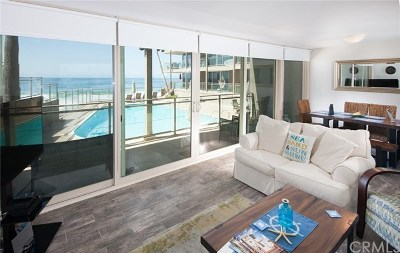 Laguna Beach Condo/Townhouse For Sale: 1585 S Coast #4