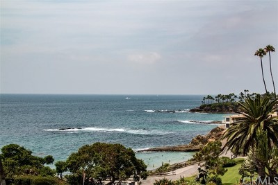 Laguna Beach Condo/Townhouse For Sale: 496 Cliff Drive #10