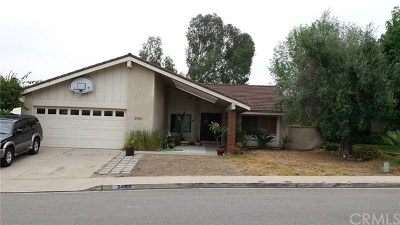 Mission Viejo Single Family Home Active Under Contract: 24302 Totuava Circle